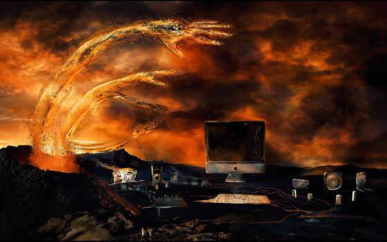 компьютер в аду