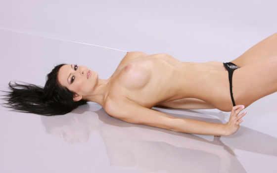 девушка, panties, грудь