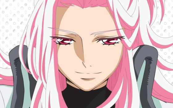 anime, девушка, розовый