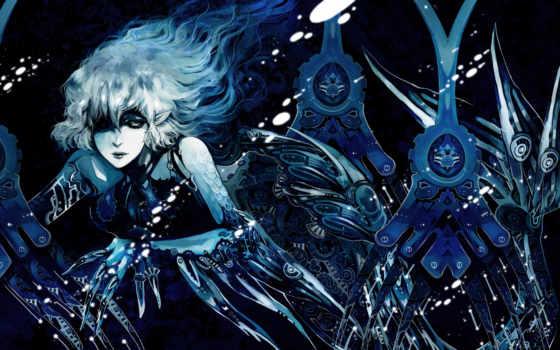 ,, аниме, темнота, cg artwork, вымышленный персонаж, графика, произведение искусства,