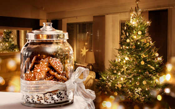 christmas, год, дерево