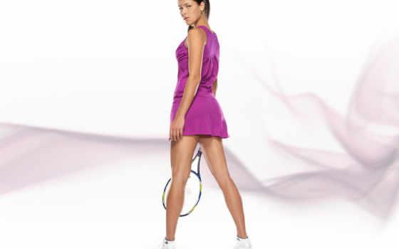 ana, ivanovic, tennis Фон № 116226 разрешение 1600x1200