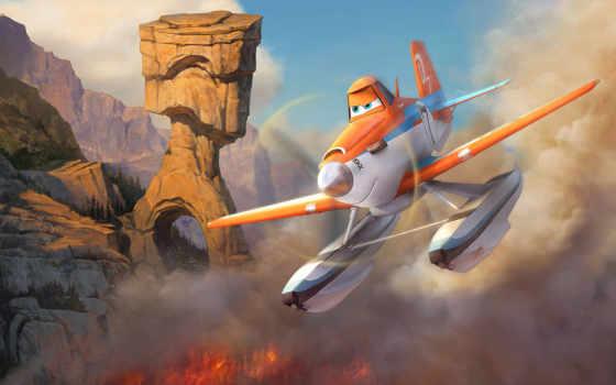planes, огонь, rescue