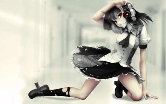 anime, девушка, фотоаппарат, animewarrior, animegirl,
