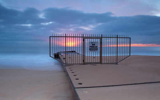 небо, закат, тучи, sun, ocean, море, спокойствие, вечер, волна,