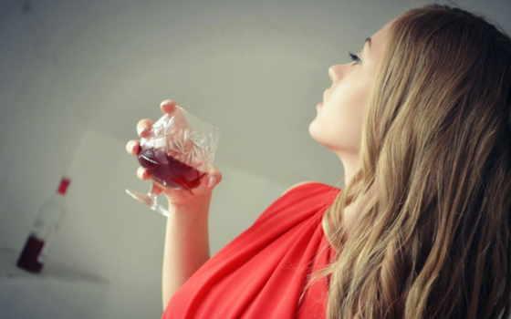 девушка, бокалом, вкус, вина, долгое, ненужности, ожидание, тоже, devushki, дает, magazine,