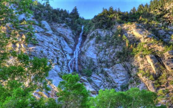 водопады, гора, фотоальбом