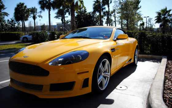aston, martin, yellow, vantage, source,