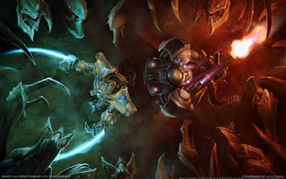 starcraft, games