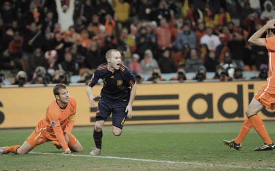 голландия, испания, футболисты,