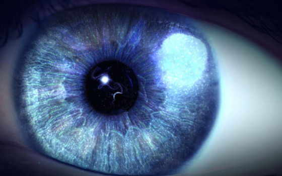 глаз, целая, таится