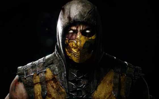 качестве, их, маска, ninja, mortal, kombat, установить, amd, possible, scorpio,