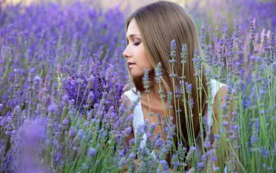 девушка, lavender, поле, лаванды, gif, lavande, cvety, красивая, мыло, фотосессия, devushki,