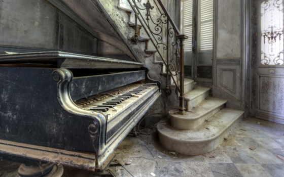 piano, музыка, качества, старый, высокого, клавиши,