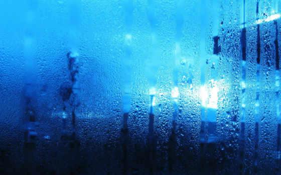 капли, потеки, вода, пар, стекло, влага,