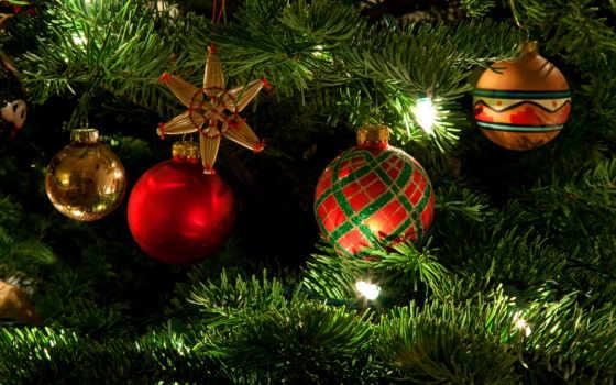 дерево, новогодние, ios