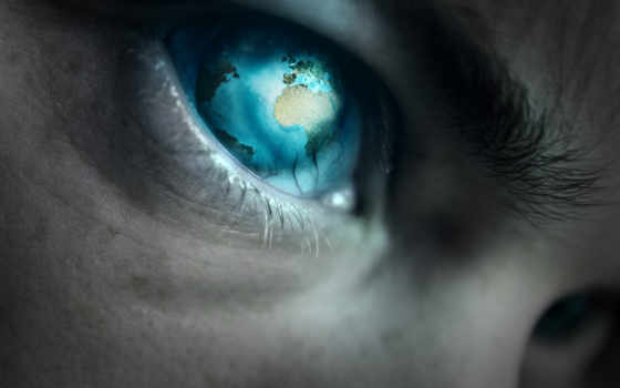 глаз, planet, blue