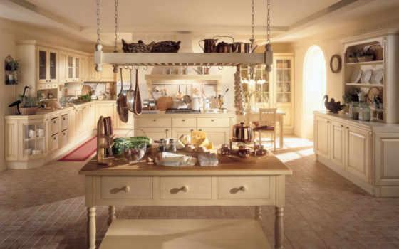 стиле, прованс, кухни