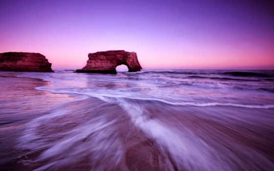 природа, небо, пляж, clouds, oblaka, море, bridges, state,