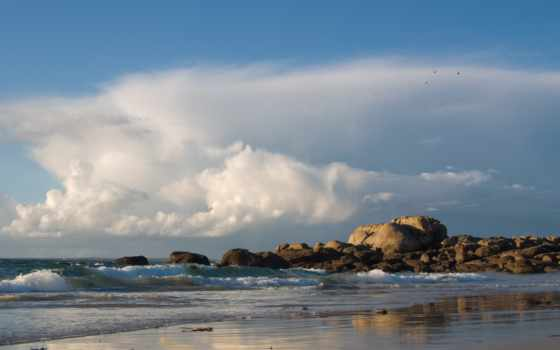 совершенн, пляж, desktop, море,