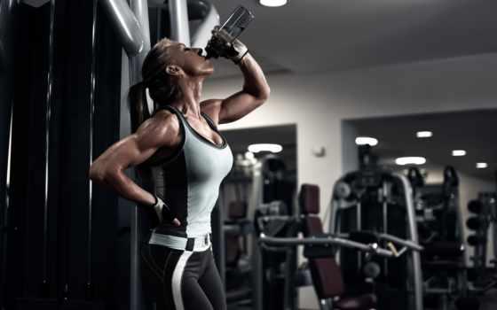 ,  фитнес, девушка, усталость,