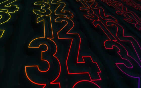 numbers, фон, desktop, free, свет,