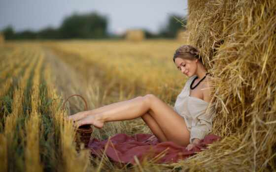 девушка, красивый, senya, сеновал, leggy, сено, сексуальный, сообщение, они, сегодня