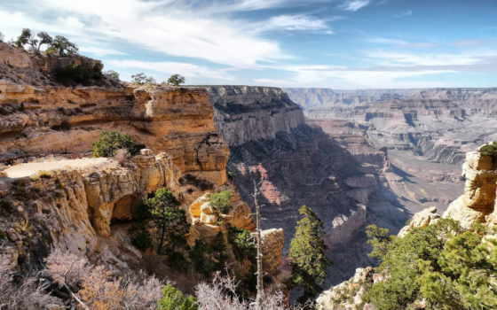 grand, каньон, wyoming