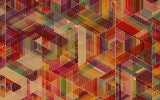 геометрия, текстура, ромбы, кубики, фигуры,