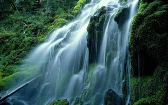 водопад, водопадов, природы