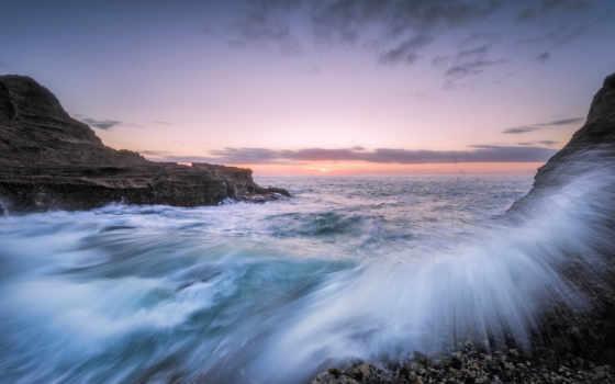 море, desktop, пляж, full, моря, seascapes,