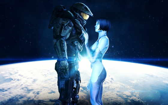 halo, chief, cosmos, master, cortana, john, игры,