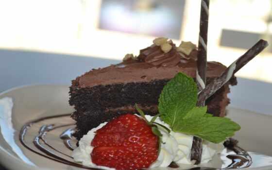 , ягода, торт, chocolate, натюрморт, freeze, seed, coffee, pasteler-a, yennivance