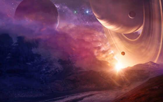 планеты, звезды Фон № 24781 разрешение 1920x1080