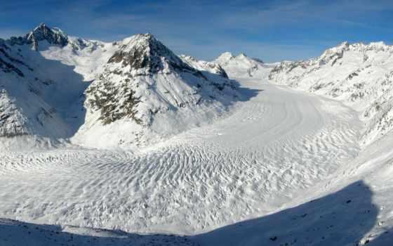 winter, горах, горы