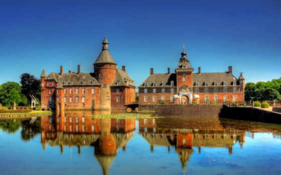 замки, германия, крепости
