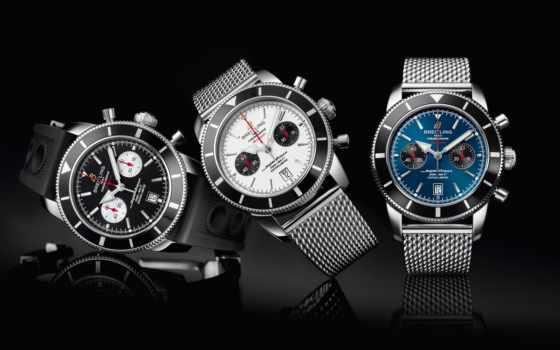 часы, tech, black, часов, breitling, наручные,