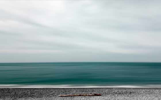 берег, море, фото, минимализм, desktop, небо,