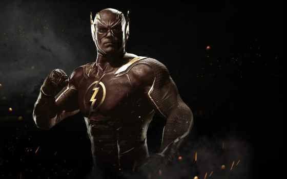 injustice, flash, reverse, studios, игры, netherrealm, файтинг, barry, allen大师高手,