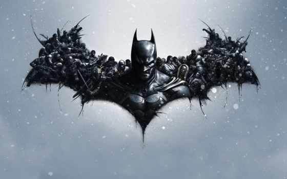 batman, arkham, origins, game, logo