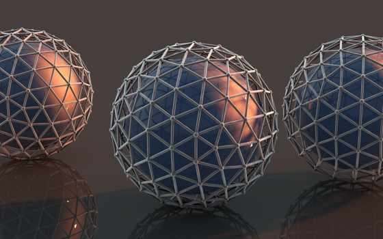 шары, digital Фон № 20679 разрешение 2560x1440