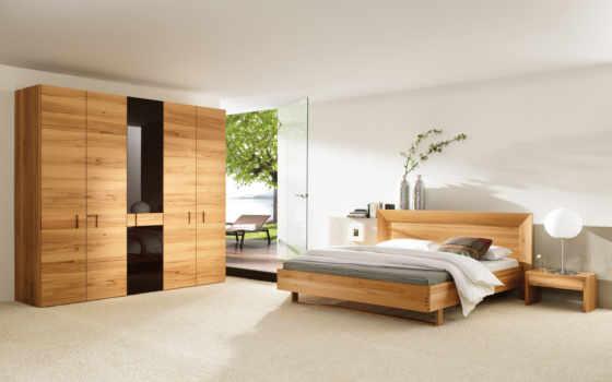 мебель, wooden, wood, спальня, современный, simple,