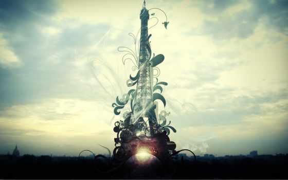 башня, eiffel, turret