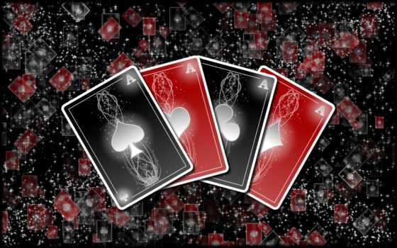 карты, игральные, rendering, покер, фишки,