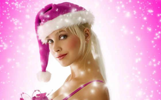 devushki, новогодние, костюмах, санта, новогодних, дек, красотки, санты, самарканда, клипарт, парни,