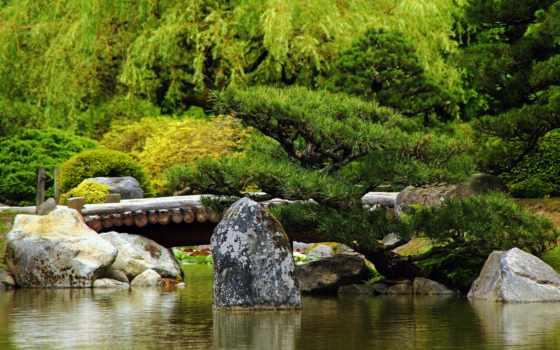 природа, красивые, природы, зелёный, красавица, мосты, леса, коллекция, бесплатные, камни,