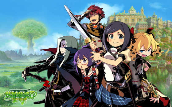 etrian, odyssey, atlus, legends, this, titan, rpg, nintendo, trailer, released, europe, que, demo, sega, megami, america, shin,