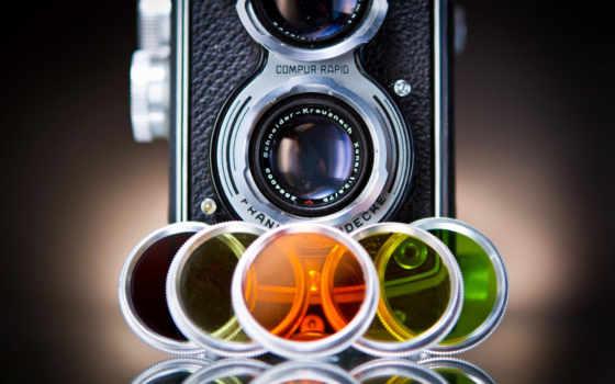 широкоформатные, رنگ, фотокамеры