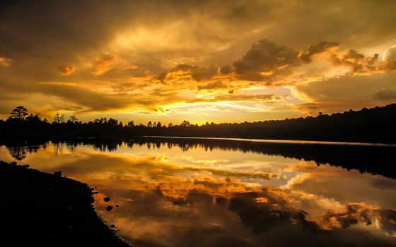 kaibab, озеро, природа