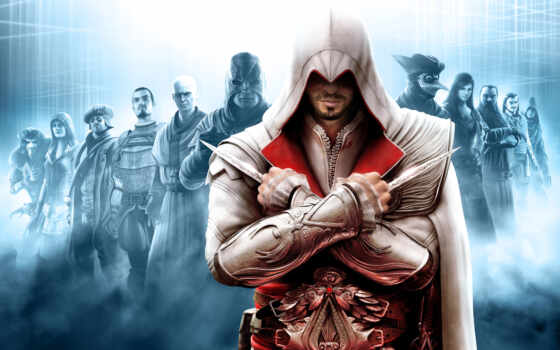 creed, assassin, assassins, brotherhood, игры,